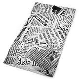 MAY-XCustom-headwear Ancient Newspaper Versatile Gesichtsmaske Shields, Lässig Balaclava Kopftuch, Dehnbar Bandana Halstuch, Wind- / Sonnen- / UV-Schutz/Staub-Nackenschutz (50x25cm)