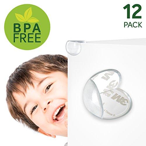 12er Set Kantenschutz | GeprŸft Und Frei Von BPA, PVC | Kindersicherung | Kinderschutz | Kantenschutz | Eckenschutz | Tischkantenschutz Aus Gummi | Eckschutz Tisch | Baby Schutzecken | Von Paents