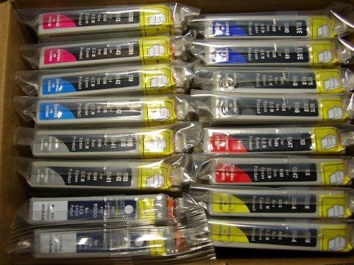 Großpackung: 16 Druckerpatronen Typ T0541 T0548 T0542 T0543 T0544 T0547 T0549 für...