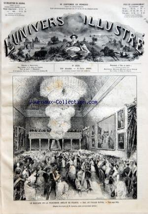 UNIVERS ILLUSTRE (L') [No 1628] du 05/06/1886