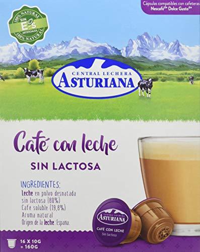 Central Lechera Asturiana Cápsulas Café Leche Sin
