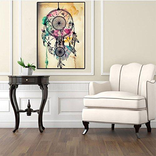 Everpert Kit de pintura para decoración del hogar, manualidades, 5D, diseño de atrapasueños, cuentas