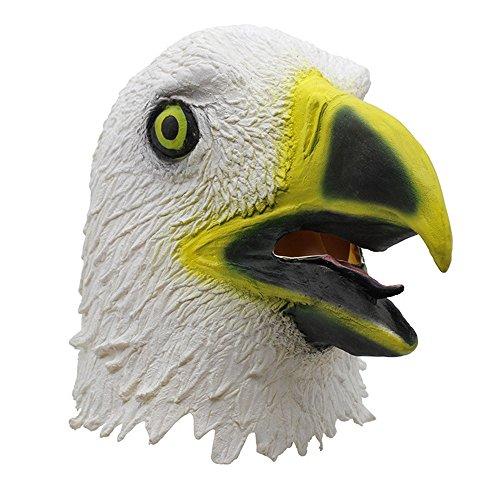 Erwachsene Maske Adler-Maske, die zu Leere Eagle Hood -