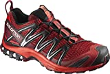 Salomon XA Pro 3D, Zapatillas de Trail Running Hombre, Rojo (Red Dalhia/Fiery Red/Black), 44 2/3 EU