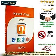 MICROSOFT Office 2019 Prof Plus | 32/64 Bit | Solo Per Win 10 | Invio Email In Giornata Lavorativa
