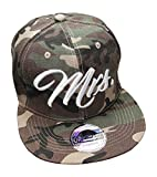 Snapback Cap Caps King & Queen für Damen & Herren (Mrs. Army)