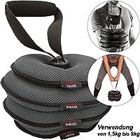 C.P. Sports Uni softkett Pesa Rusa Fitness Accesorios, Gris, One Size