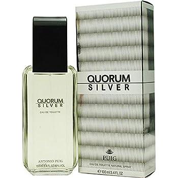 Antonio Puig Quorum Silver Eau de Toilette for Men - 100 ml