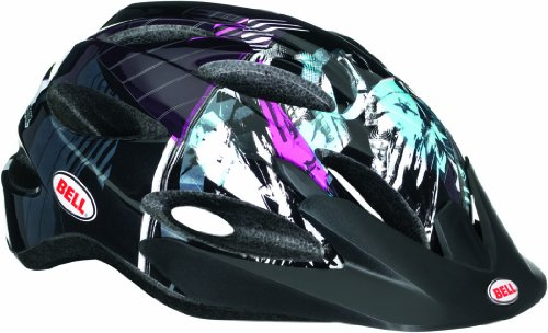 Bell Kinder Fahrradhelm Octane Purple/Teal/Black Swan, 50-57