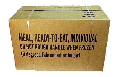 MRE Meals Ready to Eat, US Rationen Epa Case A oder B (Case A INSP 2019)