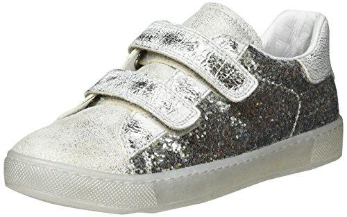Naturino Naturino 4426 Vl, chaussons d'intérieur fille - argent - Silber (Silber), 35 EU