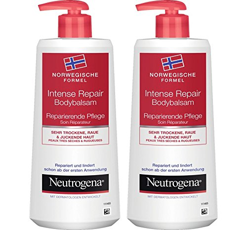 Haut Repair Lotion (Neutrogena Norwegische Formel Intense Repair Bodybalsam - 2 x 250ml)