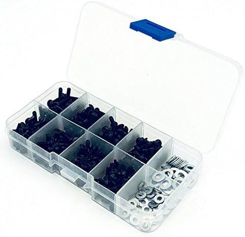 Faironly Haute résistance Rondelle Plate Joints toriques Vis Box Set pour 1/10 TélécomFemmede RC Car Set One | Excellent (dans) La Qualité