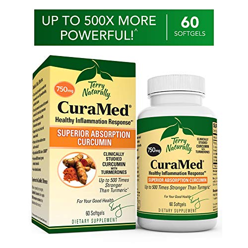 Antioxidative Orac-wert (Terry Naturally CuraMed Curcumin BCM-95 750 mg-60 Softgels)