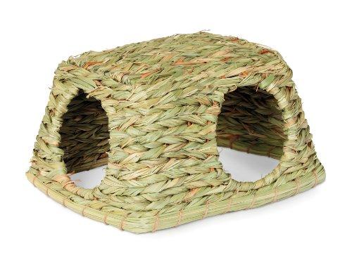 Prevue Hendryx 1097 Nature's Hideaway Grass Hut Toy, Medium 1