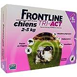 FRONTLINE Tri Act pour Très petit Chien XS 2-5 kg 6 Pipettes