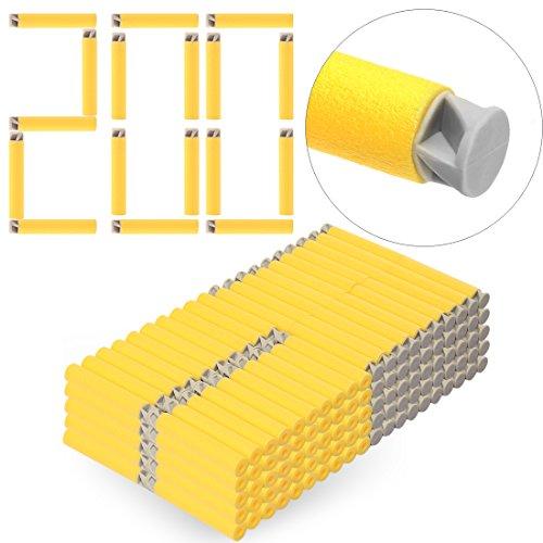 HB 200 Pack Darts Pfeile Refill Bullets Nachfüllpack Zubehör für Nerf Serie (Pfeil-box)