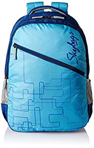 Skybags Footloose Colt 29 Ltrs Blue Casual Backpack (BPFSCOL2BLU)