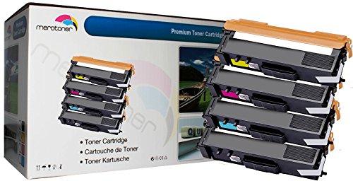 4 x XXL Toner kompatibel für Brother TN 321 TN 326 Brother HL-L8250CDN HL-L8350CDW HL-L8350CDWT, MFC-L8600CDW MFC-L8850CDW, K-2500 (4.000 Seiten Schwarz 3.500 Seiten je Farbe C,Y,M) (Brother Toner-l8600cdw)