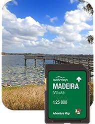 Satmap mapcard: Madeira Adventure Karte (1: 25K)