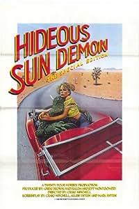 Hideous Sun Demon Plakat Movie Poster (11 x 17 Inches - 28cm x 44cm) (1959) B