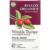 Avalon Organics Wrinkle Therapy Facial Serum, 0.55 Fluid Ounce