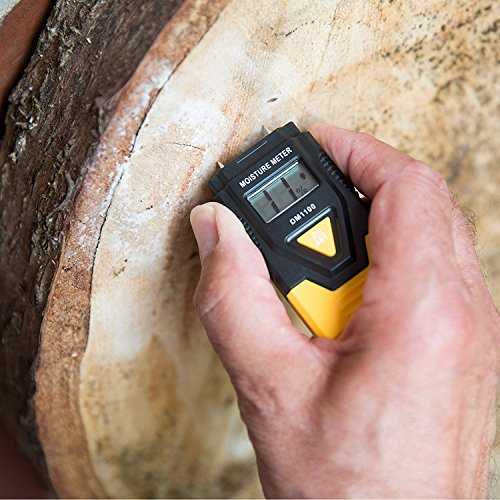 Zevek Digital Moisture Meter is an effective monitor of moisture and dampness. It is intended for use of detecting damp in and around your home but is also suitable for testing the moisture content in logs for using in a log burner.