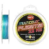WFT Multicolor Plasma Schnur 0,14mm - 150m - 22 Kg