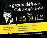 Le grand défi de la Culture générale pour les N..