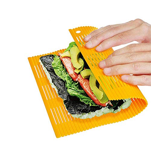 Esta alfombrilla de sushi de plástico ofrece innovadoras características tradicional cadena de alfombrillas. porque no hay espacios, en las cuales se acumulan alimentos pueden, esta alfombra es mucho higienico. también se los olores y sabores, y la s...