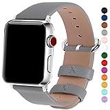 15 Farben für Apple Watch Armband 42mm, Fullmosa® Uhrenarmband Litschi Textur Hauptschicht...