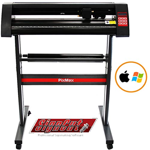 PixMax 72cm Schneideplotter Plotter für Windows & Mac OS X