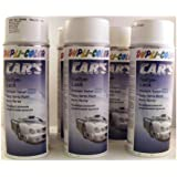 Dupli Color 385896 Car 's Rallye barniz de color blanco brillante 6 latas de aerosol de 400 ml.