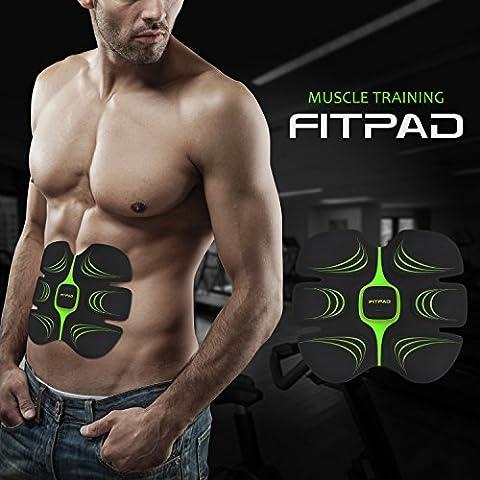 Electrostimulateurs de Finess sans fil & Appareil de Musculation Minceur Intelligent pour Brûler Rapidement des Graisses et Sculpter Silhouette Elégante