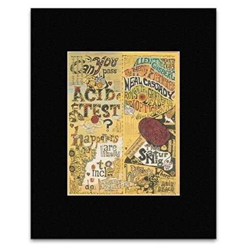 Stick It On Your Wall Grateful Dead Neal Cassady-Die Säure Tests-Muir Beach California 1965-Rock Mini-Poster-40,5x 30,5cm -
