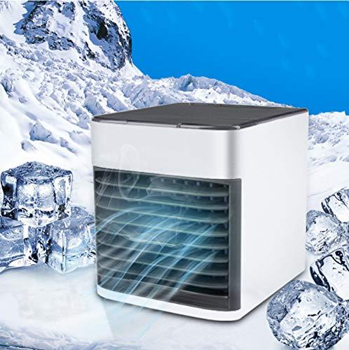 USB Mini Tragbare Klimaanlage Luftbefeuchter Luftreiniger 7 Farbe Lampe Desktop Luftkühlventilator Luftkühlventilator Office Home (Honeywell Luftbefeuchter Lampe)