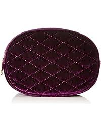 New Look - Velvet Bumbag, Monederos Mujer, Morado (Bright Purple), 21x15x21 cm (W x H L)