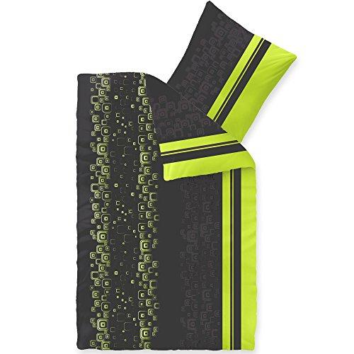 CelinaTex Winter Bettwäsche Microfaser Fleece Bettbezug mit Kissen Style Bettgarnitur Cosima