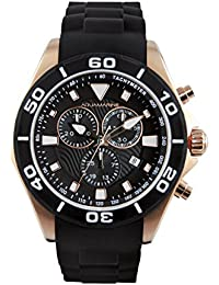 e1d28c22b0ab Aquamarine Reloj Hombre Chrono Negro Top Top rose-Colección Verano de 2016