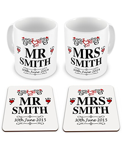 pair-of-personalised-mr-mrs-novelty-wedding-gift-mugs-w-matching-coasters