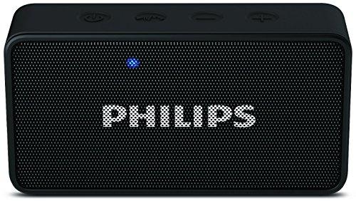 Philips BT64B Portable Bluetooth Speakers  Black  Bluetooth Speakers