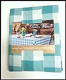 Die Pioneer Frau Kleidung Überprüfen Floral Küche Bettwäsche Tischdecke, baumwolle, Charming Check Blue, 60