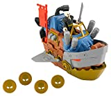 Fisher-Price - BFT09 - Imaginext - Piraten - Pirate Shark Ship / Piraten Hai Schiff - mit Pirat und Zubehör