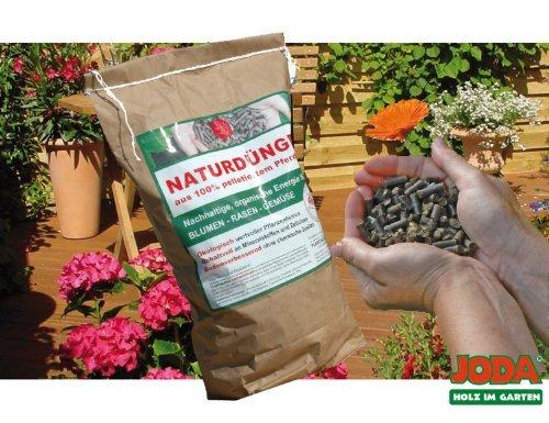 4KG JODA Plantaqenz-Naturdünger aus 100% pelletiertem Pferdemist