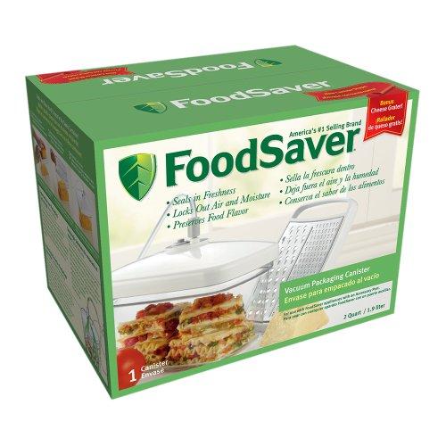 Preisvergleich Produktbild FoodSaver Rectangular Canister with Bonus Cheese Grater by FoodSaver