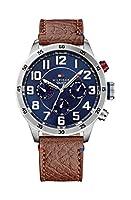 Tommy Hilfiger 1791066 - Reloj de cuarzo , correa de cuero color marrón de Tommy Hilfiger