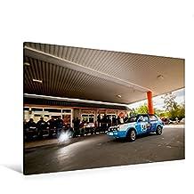 Premium Textil-Leinwand 120 cm x 80 cm quer, VW Rallye Golf II | Wandbild, Bild auf Keilrahmen, Fertigbild auf echter Leinwand, Leinwanddruck (CALVENDO Sport)
