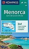 KOMPASS Wanderkarte Menorca: 3in1 Wanderkarte 1:50000 mit Aktiv Guide und Stadtplänen. Fahrradfahren.: Wandelkaart 1:50 000 (KOMPASS-Wanderkarten, Band 243) -