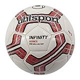 uhlsport Infinity 290 Ultra Lite Soft Ballon de Foot Mixte Adulte, Blanc/Rouge/Noir, 5