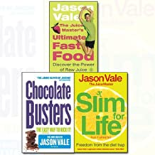 Jason Vale Collection 3 Books Bundle (Freedom from the Diet Trap: Slim for Life, Chocolate Busters: The Easy Way to Kick Your Addiction,The Juice Master's Ultimate Fast Food: Discover the Power of Raw Juice)
